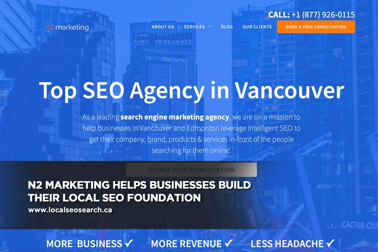 N2 Marketing helps businesses build