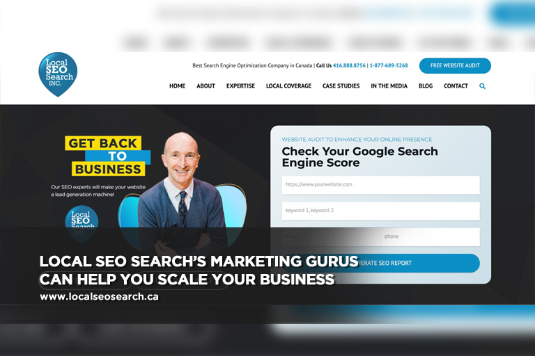 Local SEO Search's marketing gurus can help you scale your business