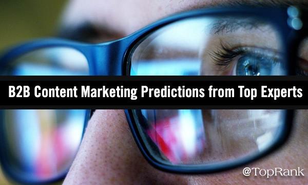 B2B Content Marketing Predictions 2021