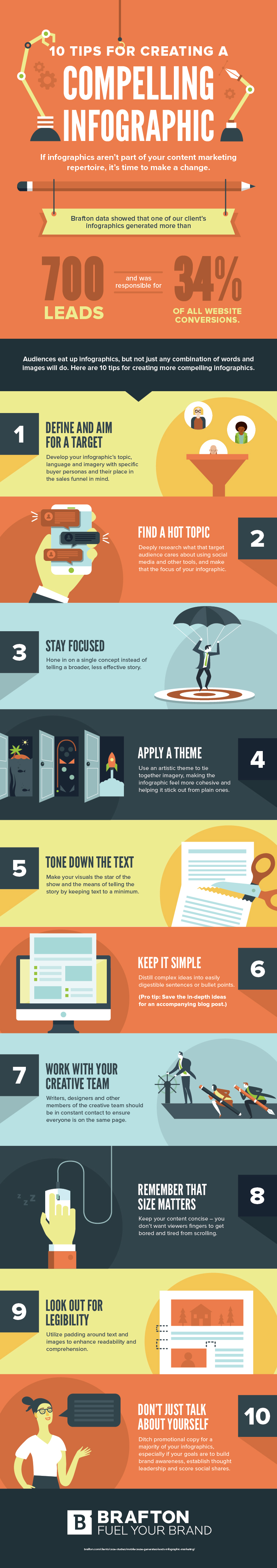 10 tips to create better infographics
