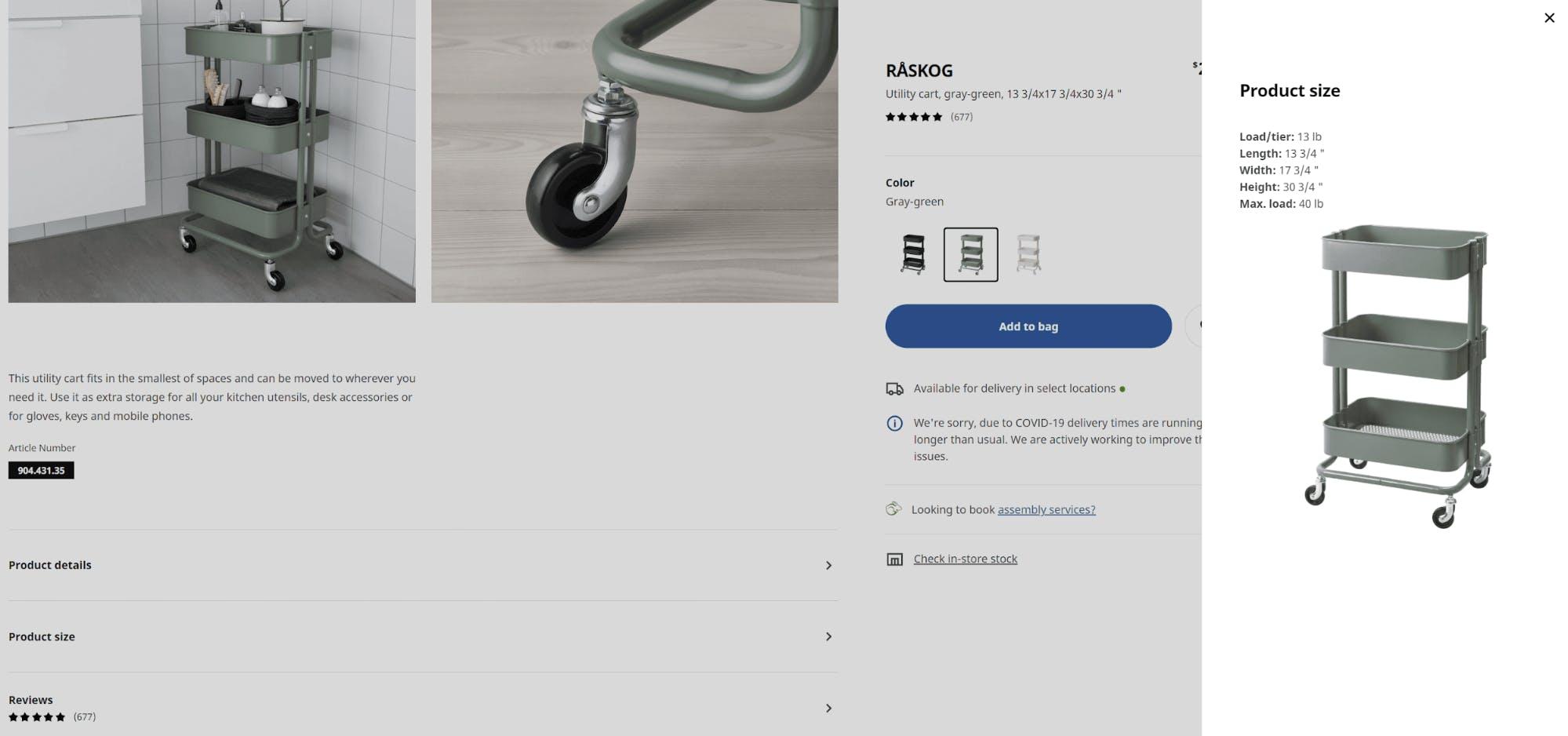 Ikea example