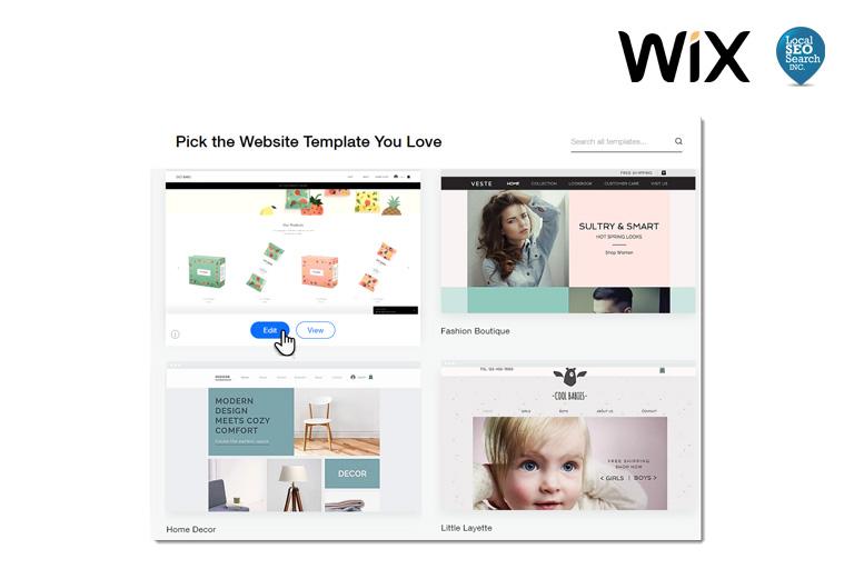 Wix website drag and drop website maker